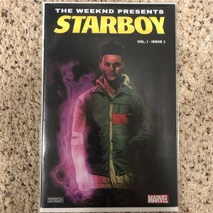 The Weeknd comic - Starboy Vol. 1 Issue 1